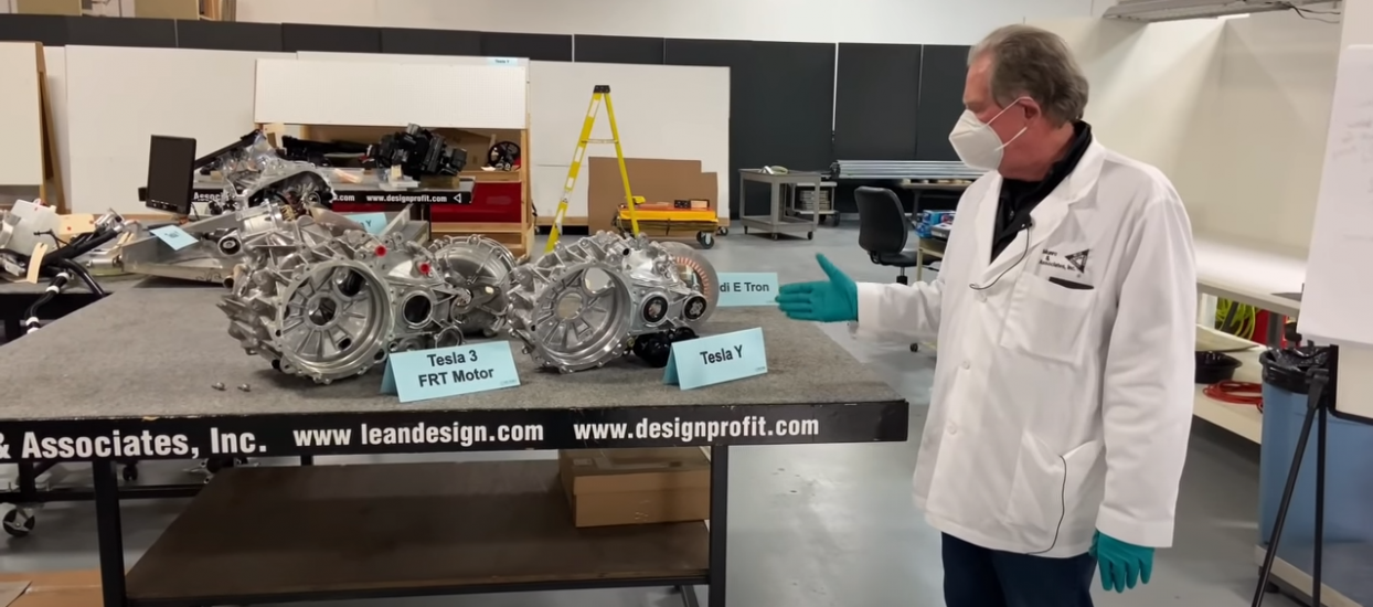 Model Y E22 Changes inside the Model Y Front EDM and Comparison to M3