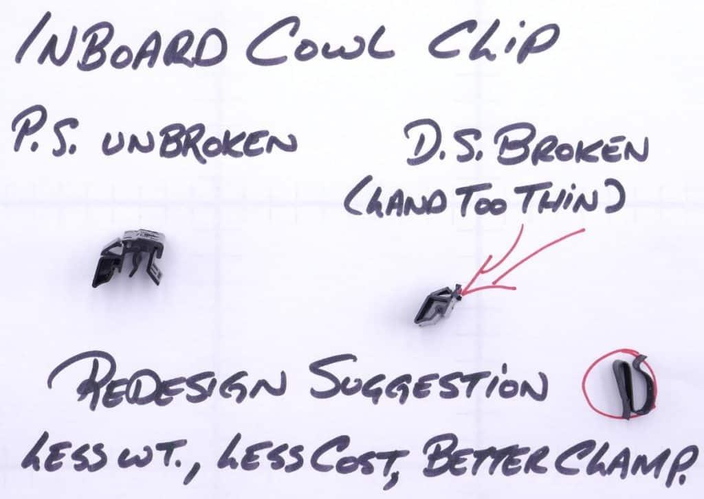 Tesla Model Y Cowl Clip