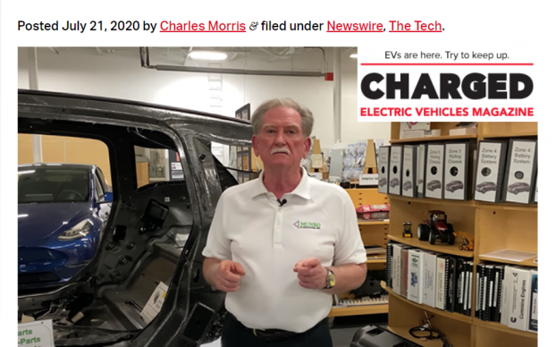 Charged EV Covers Munros $10 BMW i3 Report