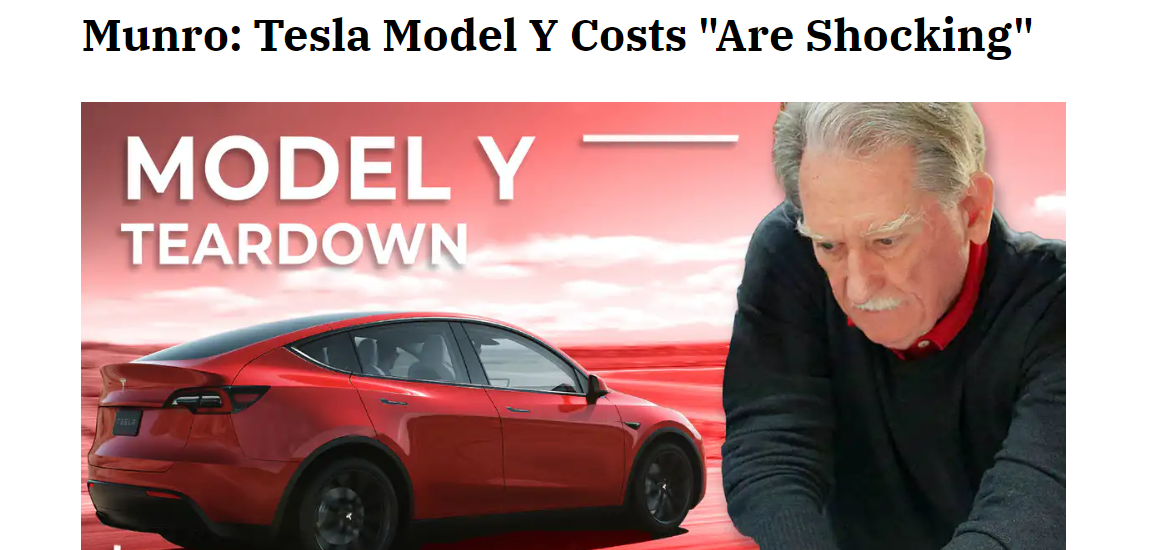 The Street - Shocking Tesla Model 3 to Model Y Costs