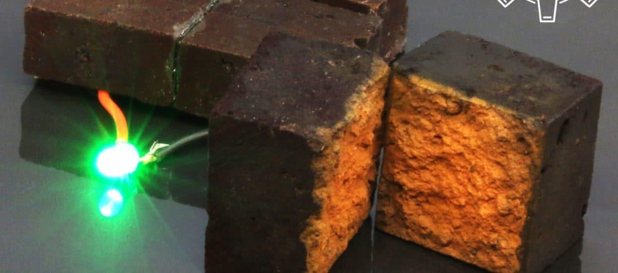 Brick Supercapacitor Darcy Research Lab