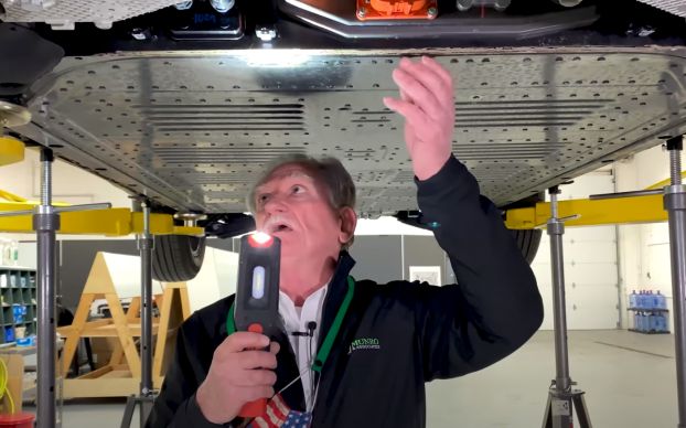 Sandy Munro Episode 3 Mustang Mach E Hoist and Suspension Review