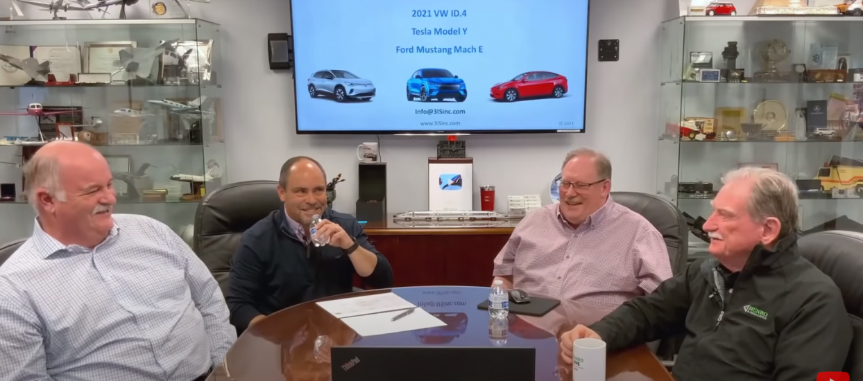 3IS Discuses Tesla Ford and VW Electrical Architectures