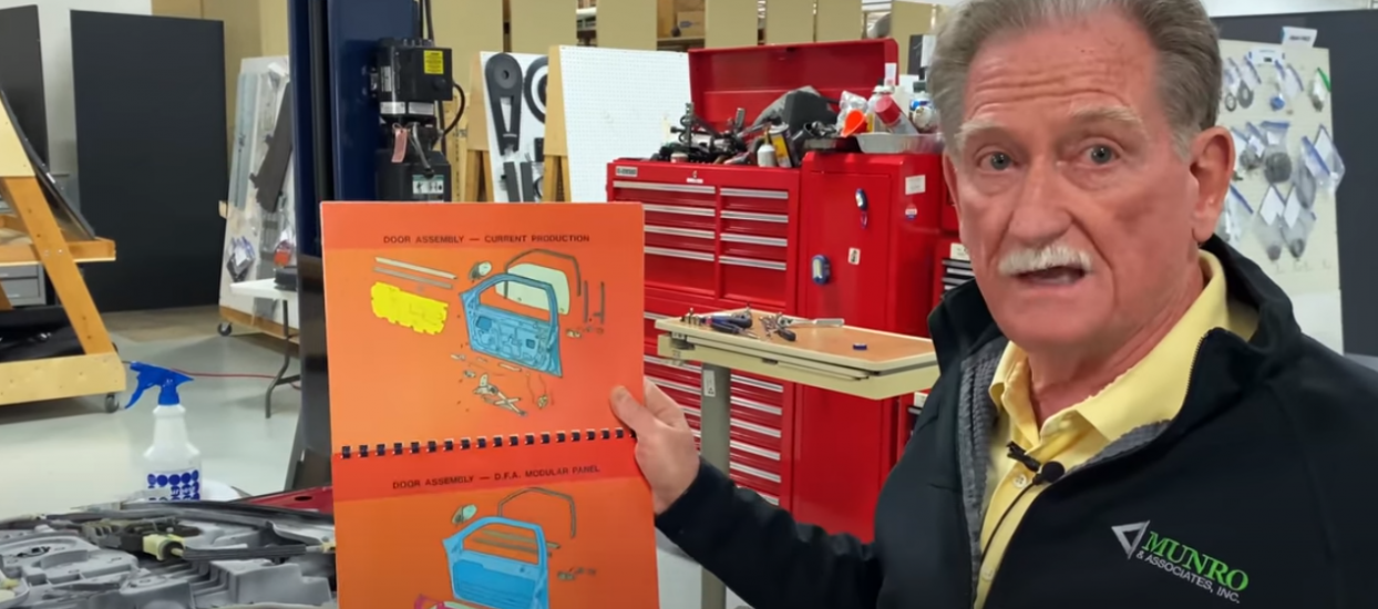 Door Assembly Ford Mach-E Sandy Shows His Design From 1983