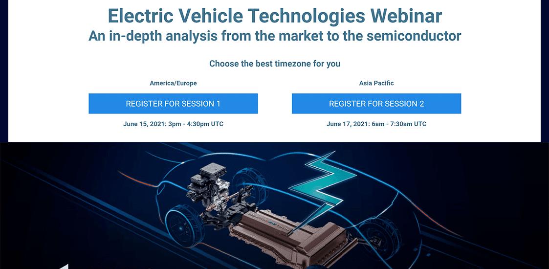 EV Technologies Webinar Promo Photo