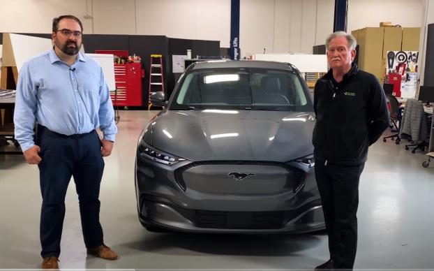 Munro Begins Its Teardown of the Ford Mach-E