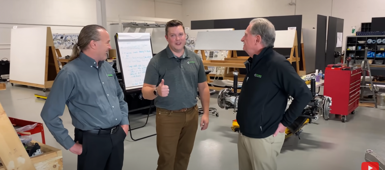 Cory Steuben Gives Thumbs Up on Ford Mach-E Suspension
