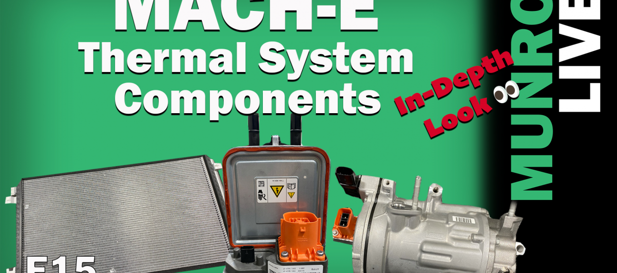 Mach-E Thermal System Components explained by Cory and Ben