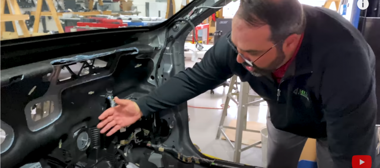 Sandy Munro and Ben do a Mach-E Instrument Panel review