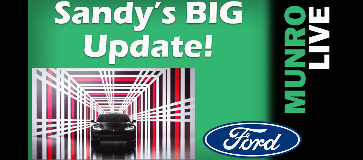 Sandy Gives an Update on the Model S Plaid, Ford and Upcoming Videos