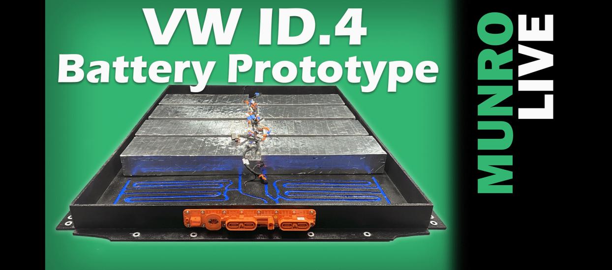 Volkswagen VW ID.4 Battery Prototype Update Sandy Munro