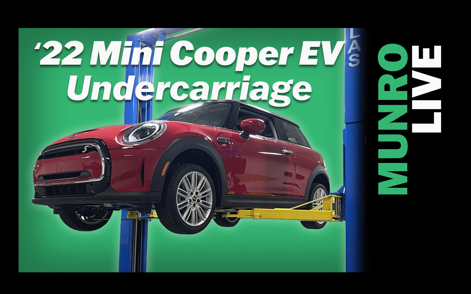 Munro Analyzes the 2022 Mini Cooper SE EV Undercarriage