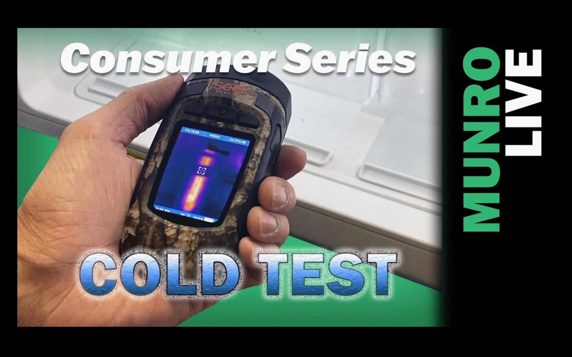 Munro Consumer Series Frigidaire vs Sub-Zero Cold Test