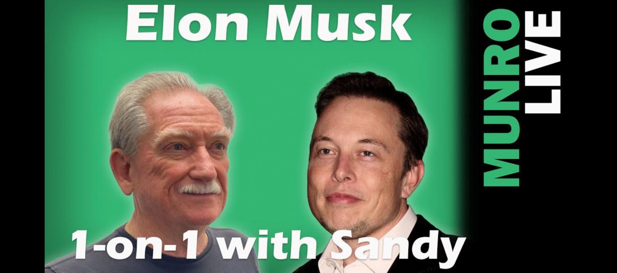 Sandy Munro and Elon Musk on Munro Live