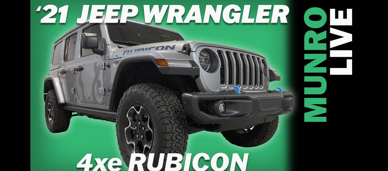 2021 Jeep Wrangler 4xe Rubicon Hybrid Sandy Munro First Impressions