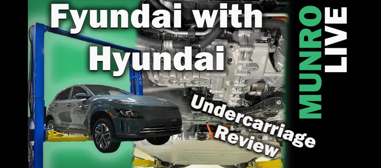 Hyundai Kona EV Hoist Undercarriage Review