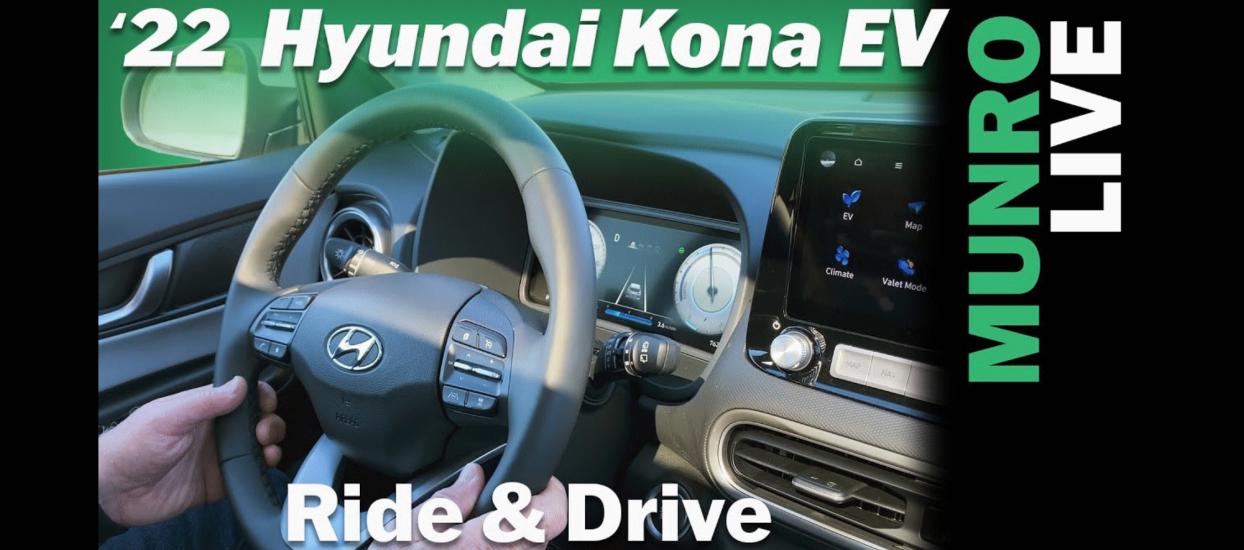 Hyundai Kona EV Ride and Drive with Sandy Munro