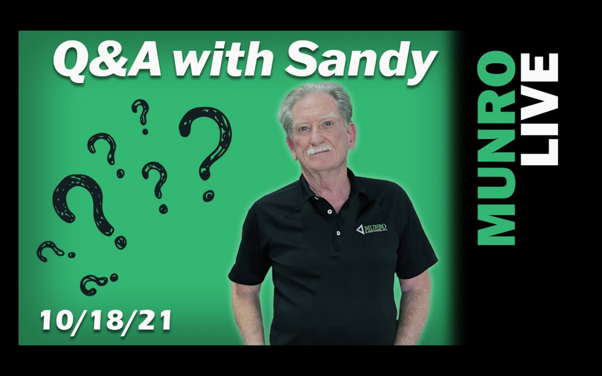 Question and Answer with Sandy Munro October 18 2021