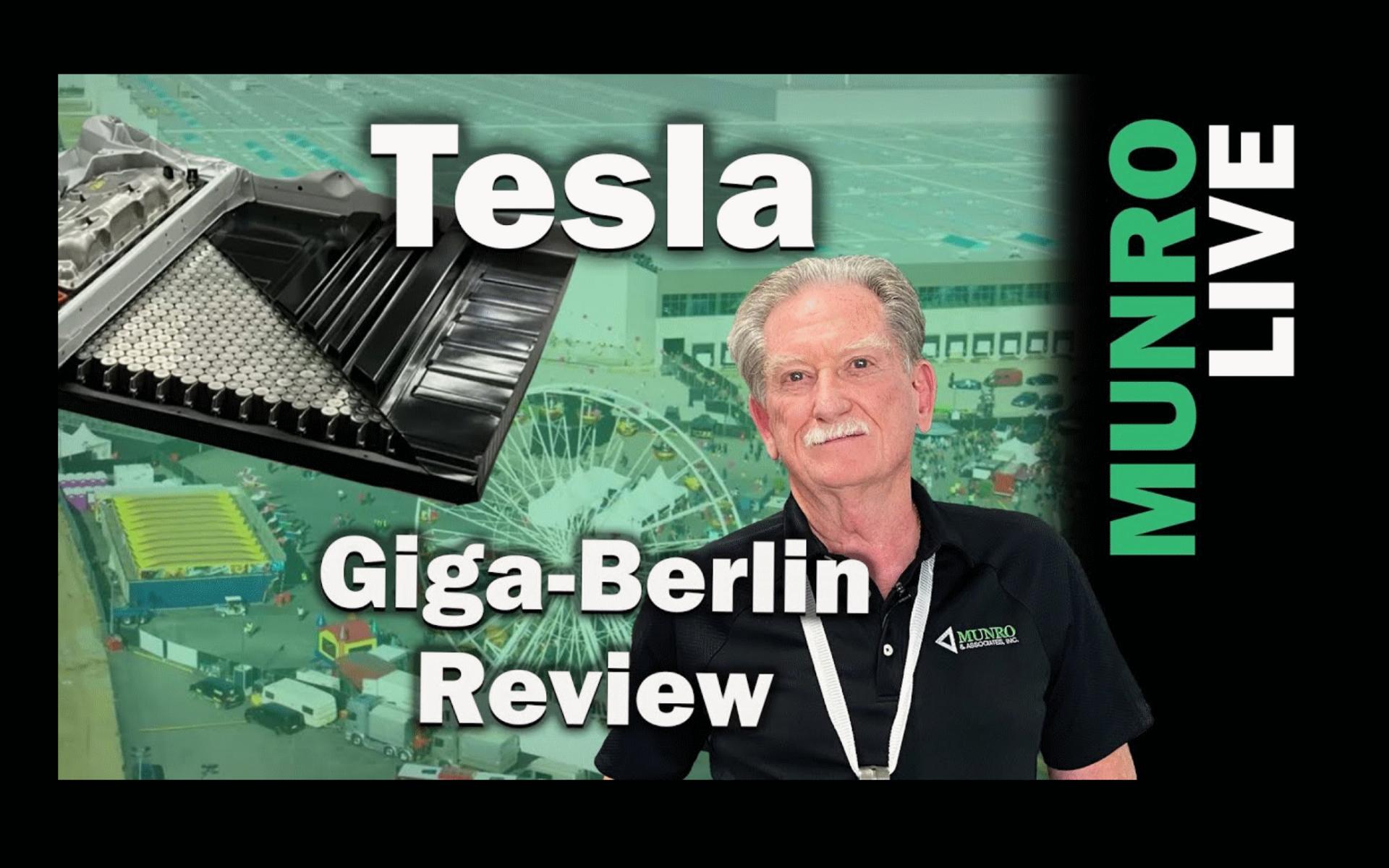 Tesla Giga Berlin Review Sandy Munro